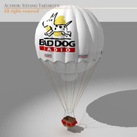 Gas balloon 3D Model