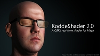 Kodde Shader v2.0 2.0.3 for Maya