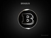 Brabus 3d Logo 3D Model
