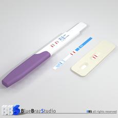 Pregnancy test 3 3D Model