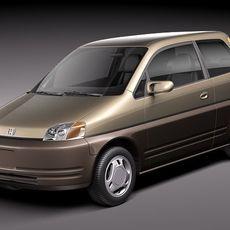 Honda EV PLUS 1996-1999 3D Model