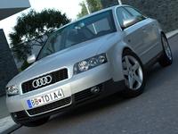 Audi A4 (2003) 3D Model