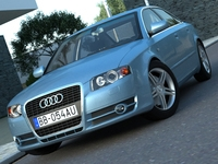 Audi A4 (2005) 3D Model