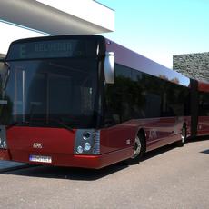 ARKbus 18m City Liner 3D Model