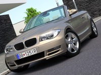 BMW 1-series convertible (2009) 3D Model
