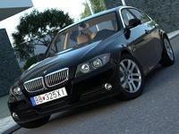 BMW 3 - series (2007) 3D Model