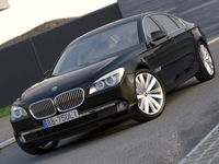 BMW 7 - series long (2009) 3D Model