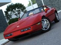 Chevrolet Corvette 1985 3D Model