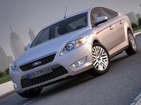 Ford Mondeo Sedan (2008) 3D Model