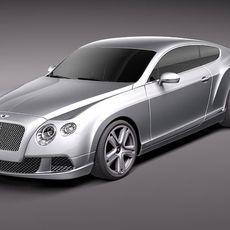 Bentley Continental GT 2012 midpoly 3D Model