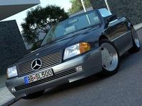 Mercedes SL class (1995) 3D Model