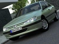 Peugeot 406 (1996) 3D Model