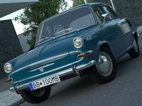 Skoda 1000MB (1964) 3D Model