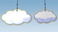 Cloud Stage 3D Model