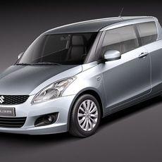 Suzuki Swift 3door 2011 3D Model