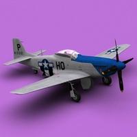 P-51d 3D Model