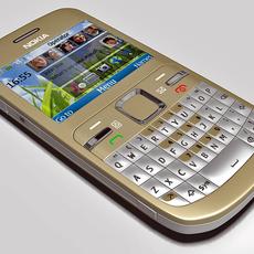 Nokia C3 3D Model