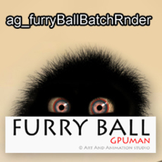 ag_furryBallBatchRnder for Maya 1.1.0 (maya script)