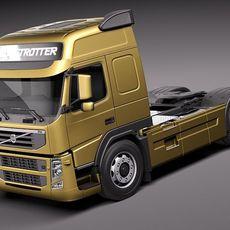Volvo FM 12 2011 3D Model