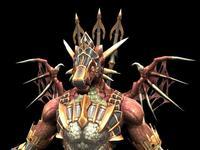 Hell Warrior_GA 3D Model