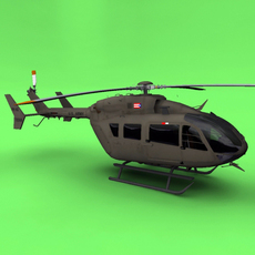 US Army UH-72 3D Model