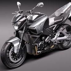 Suzuki B-King 2011 3D Model
