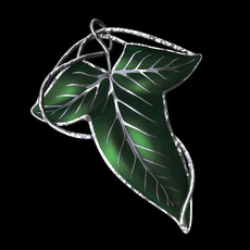 Elven Brooch 3D Model
