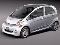 Mitsubishi i-MiEV USA 2012 3D Model