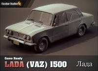 Lada 1500 (VAZ 2103) 3D Model