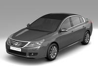 2011 Renault Latitude 3D Model