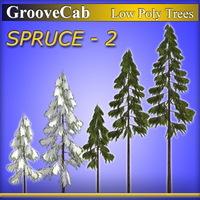 LP_Spruce2_GC 3D Model