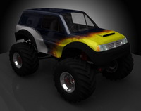 Monster Truck GC1 3D Model