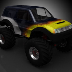 Monster Truck GC1 3D Model