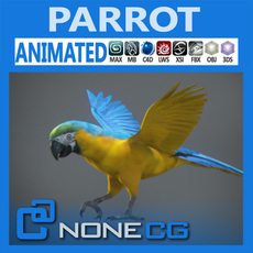 Animated Parrot