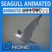 Animated Seagull