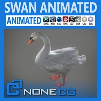 Animated Swan
