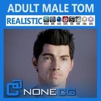 Adult Male Tom 3D Model