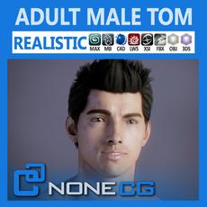 Adult Male Tom 3D Model