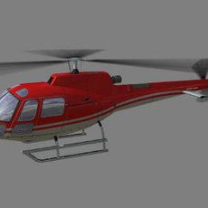 As-350 V1 3D Model