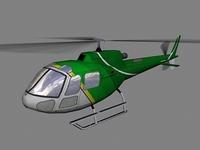 As-350 V3 3D Model