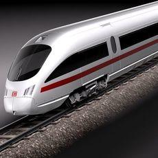 ice3 ice-3 ice t ice-t train railroad super fast germany deutsh passenger transport 3D Model