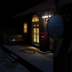 A simple Old house 3D Model