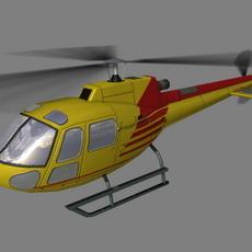 As-350 V4 3D Model