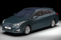 2012 Hyundai i40 Wagon 3D Model