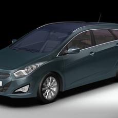 2012 Hyundai i40 Wagon 3D Model