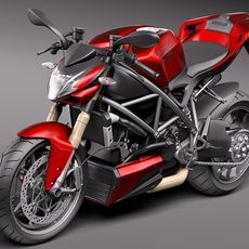 Ducati StreetFighter 2011 3D Model