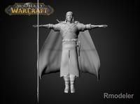 HorseMan Svyatoslav 3D Model