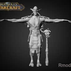 Trol Shaman Iknra 3D Model