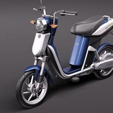 Yamaha EC-03 Electric Scooter 3D Model