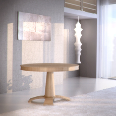 Selva Table Dinner c45 3D Model